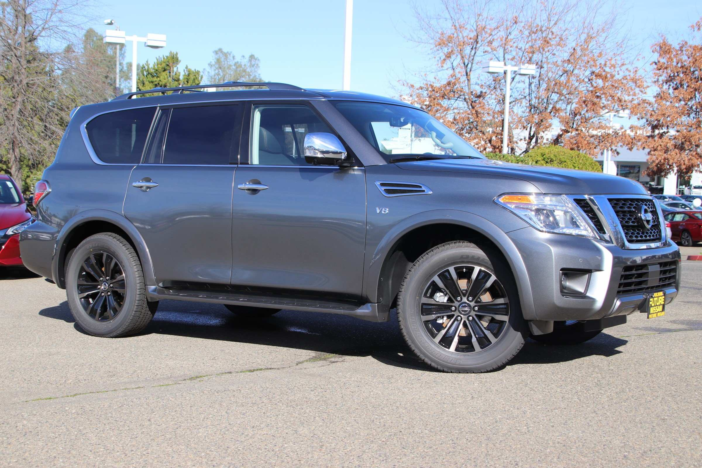 99 The 2019 Nissan Armada Review
