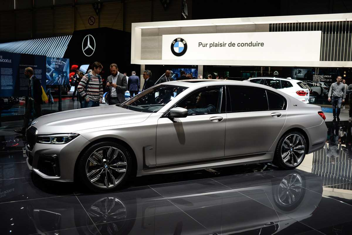 99 The 2020 BMW 7 Series Engine