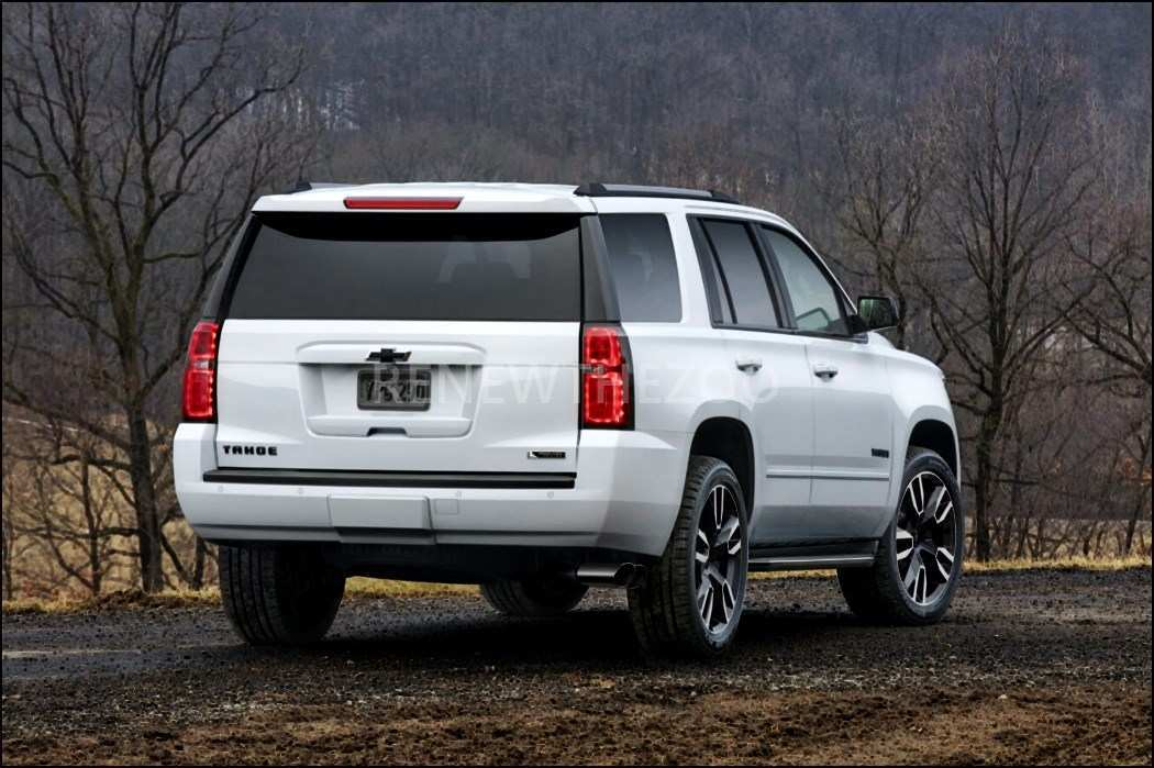 99 The 2020 Chevy Tahoe Ltz Style