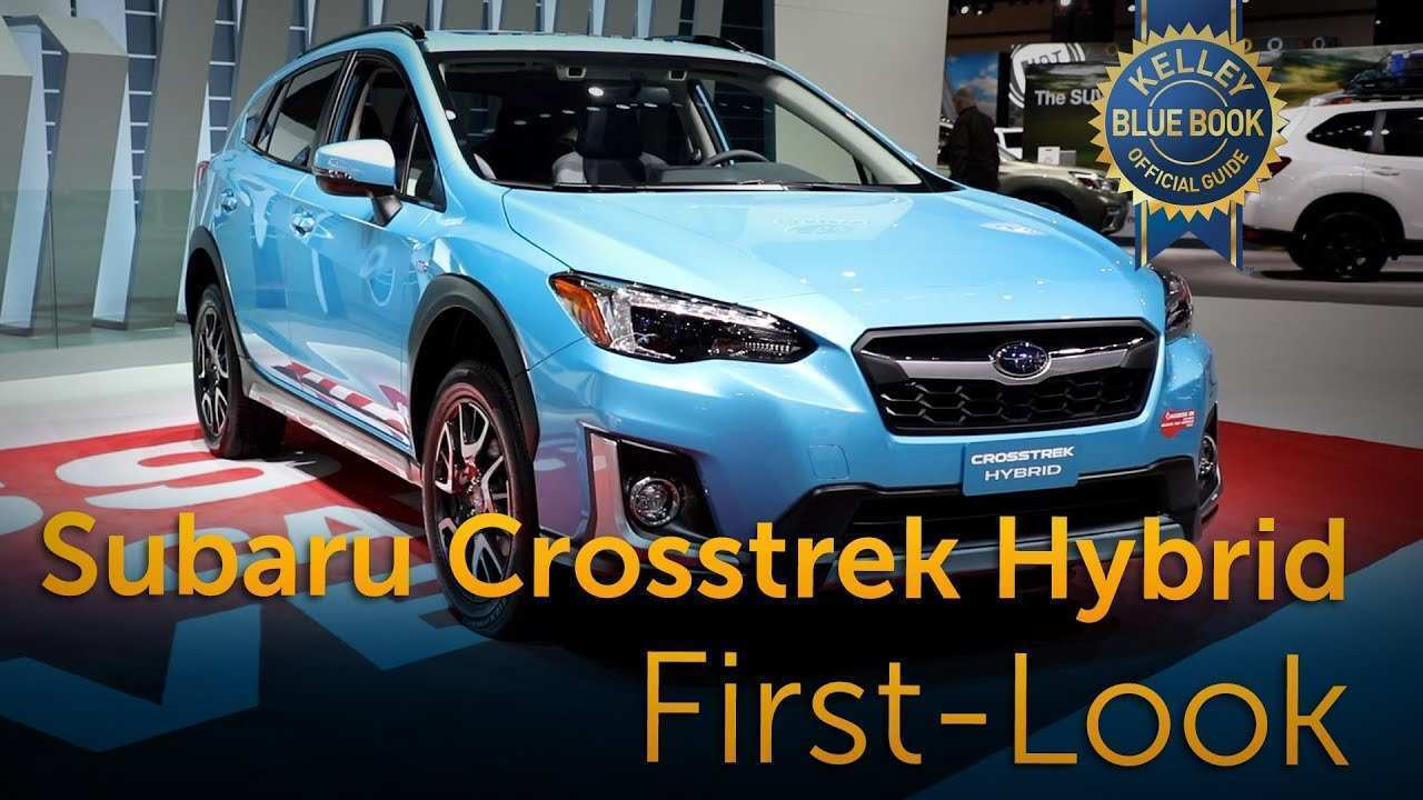 99 The 2020 Subaru Crosstrek Hybrid Concept And Review