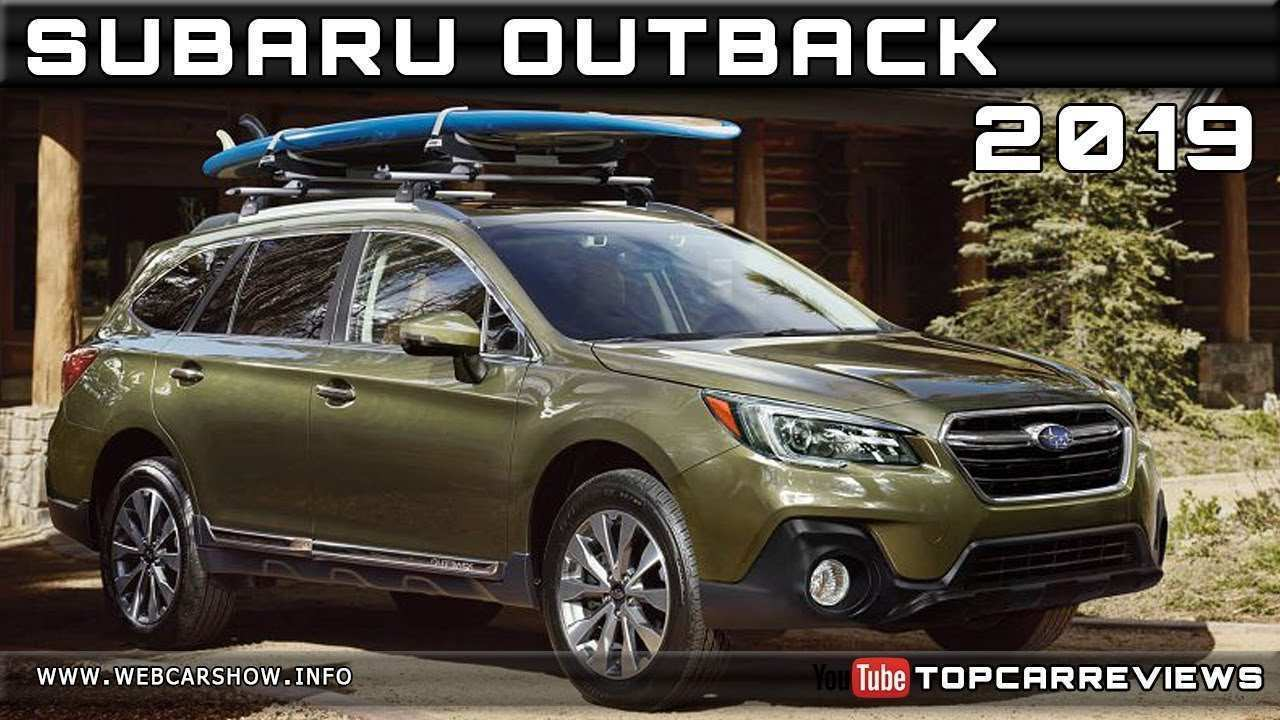 99 The Best 2019 Subaru Outback Release