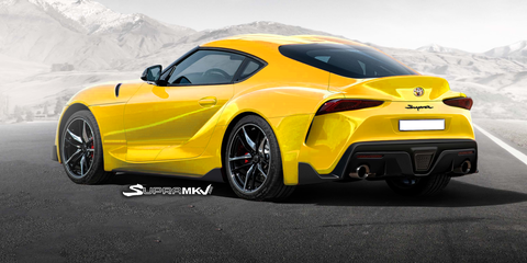 99 The Toyota Supra 2019 Redesign And Review
