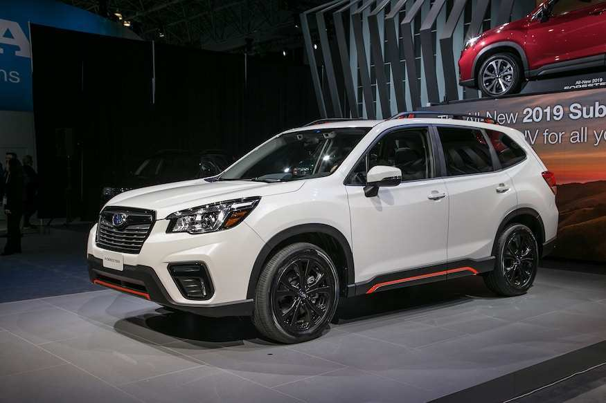 12 A 2019 Subaru Forester Manual Price Design And Review