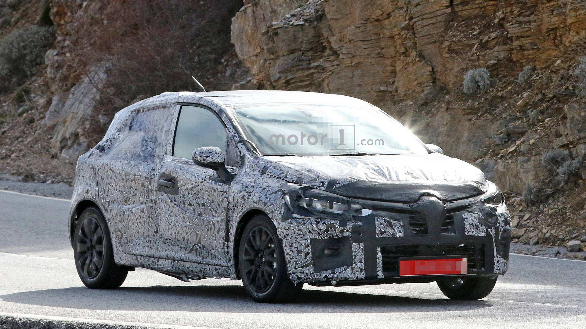 16 New Renault Clio 2019 Spy First Drive