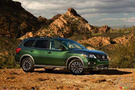 17 Best 2019 Nissan Pathfinder Release Date Performance