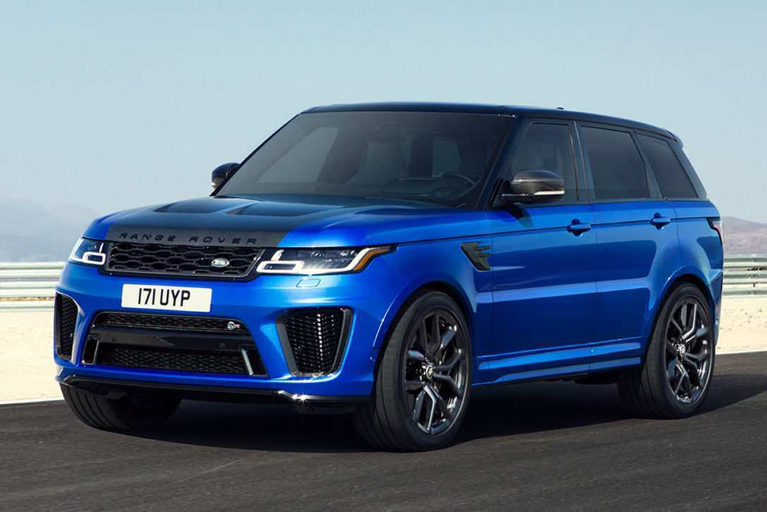 29 The 2019 Land Rover Svr Interior