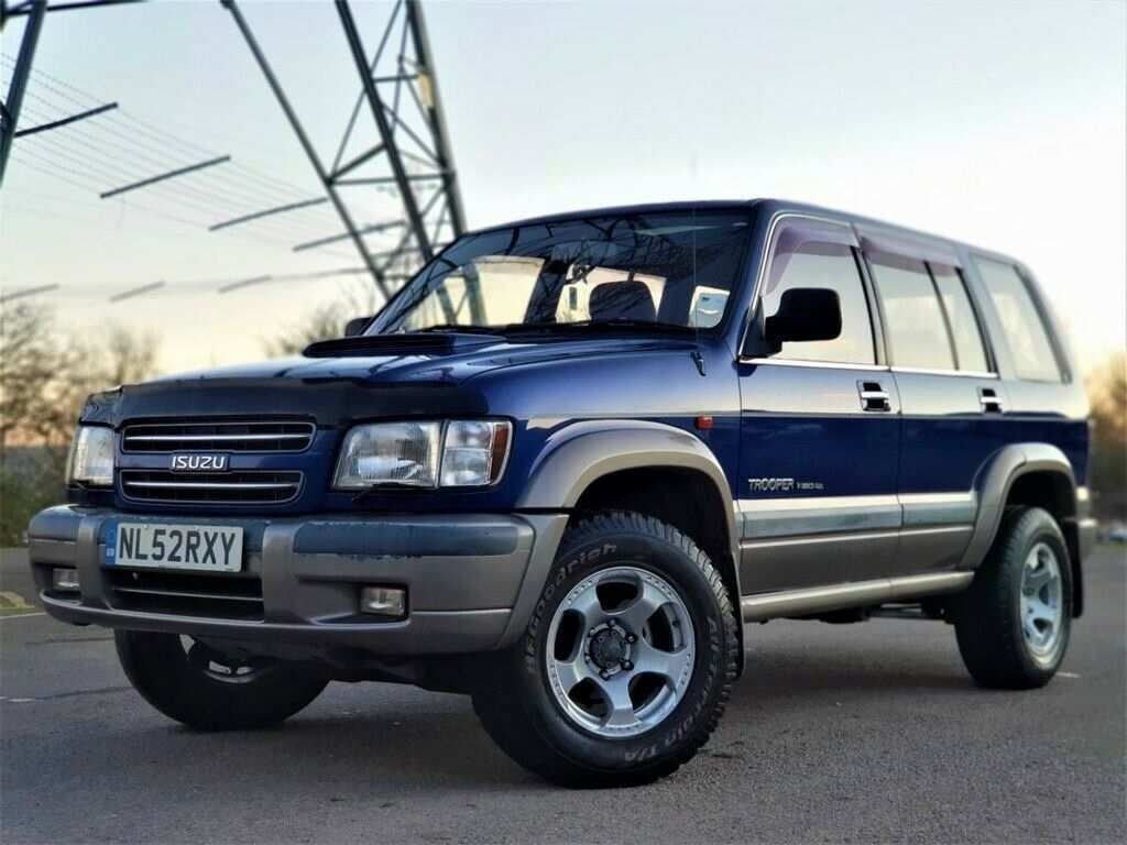 34 The Best 2019 Isuzu Trooper Images