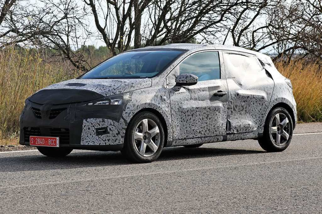 35 All New Renault Clio 2019 Spy Spy Shoot