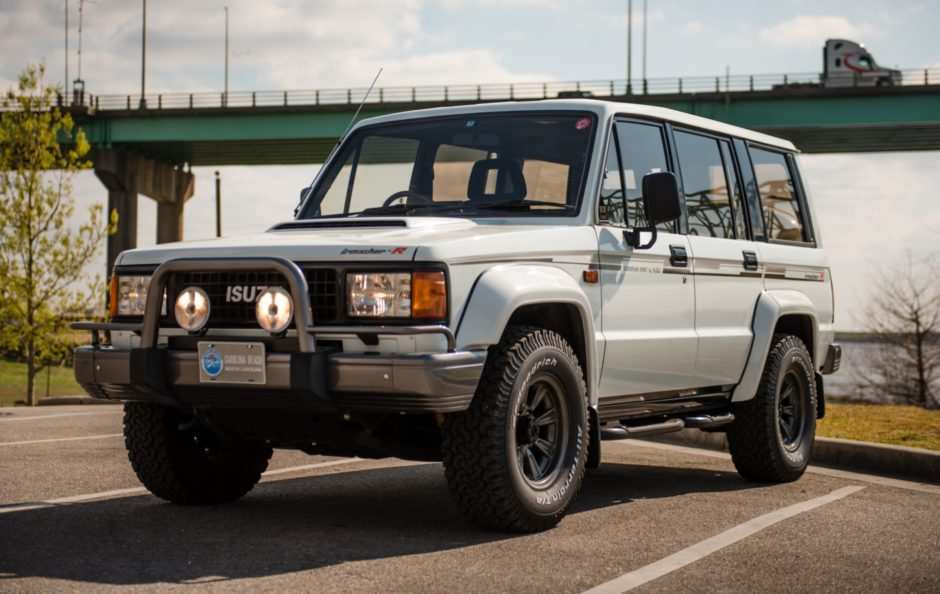 41 All New 2019 Isuzu Trooper First Drive