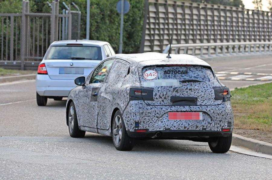 43 New Renault Clio 2019 Spy Engine