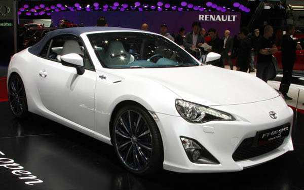 43 The 2019 Toyota Gt86 Convertible Exterior