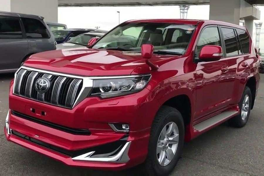 45 A 2019 Toyota Prado Redesign Speed Test