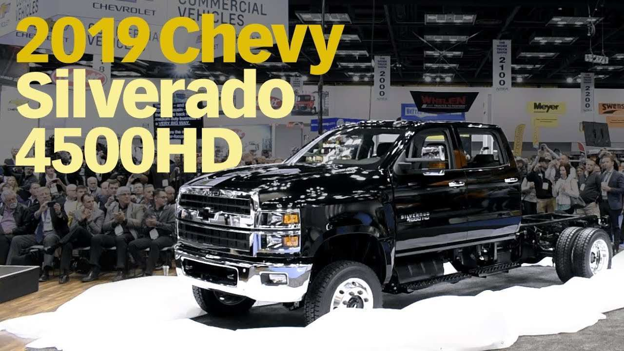 52 All New 2019 Gmc 4500Hd Redesign And Review
