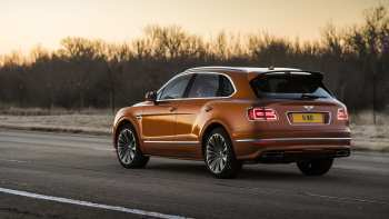 54 The 2020 Bentley Suv Spy Shoot