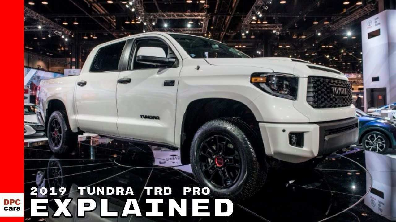 55 The 2019 Toyota Tundra Concept Release Date and Concept