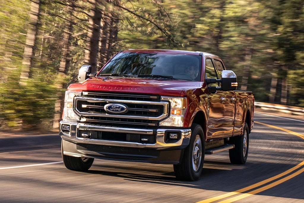 57 A 2020 Ford F350 First Drive