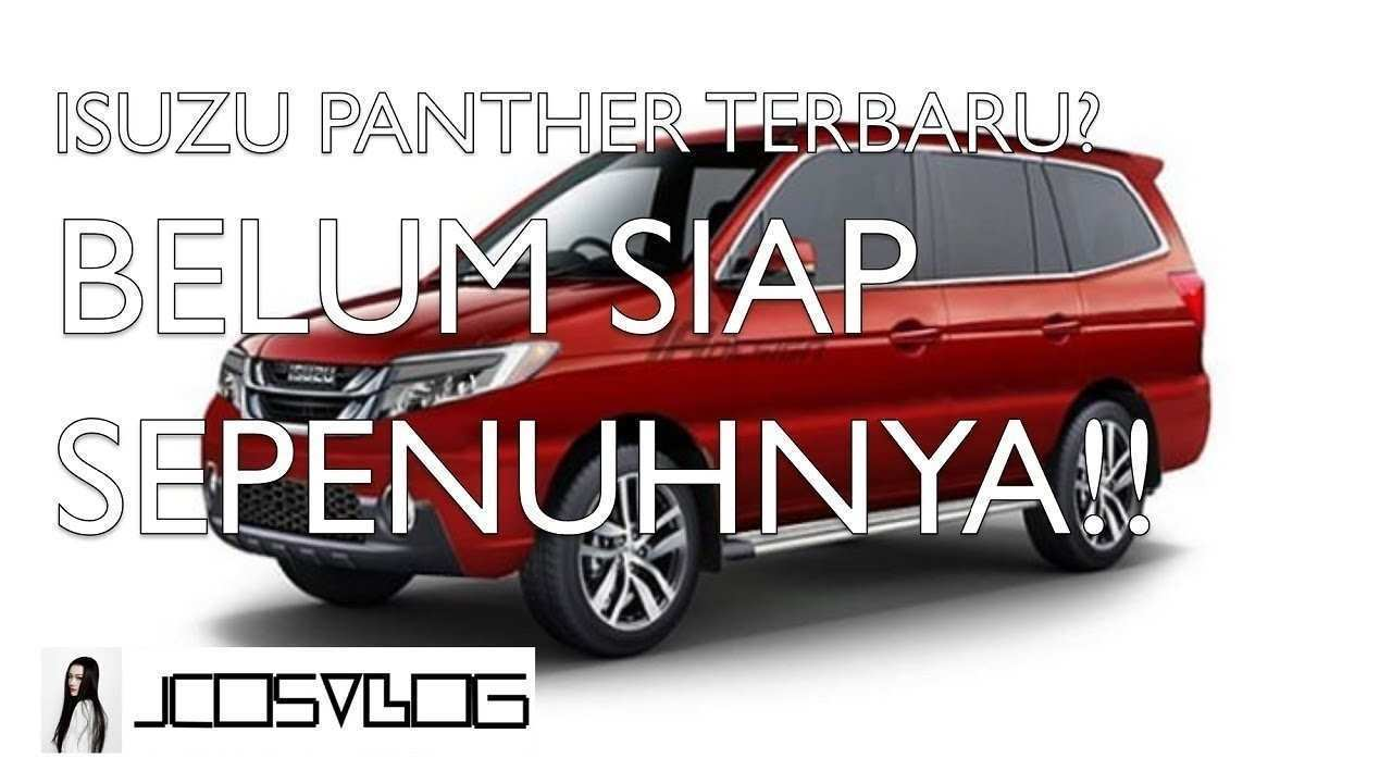 59 The Best Isuzu Panther 2019 Overview