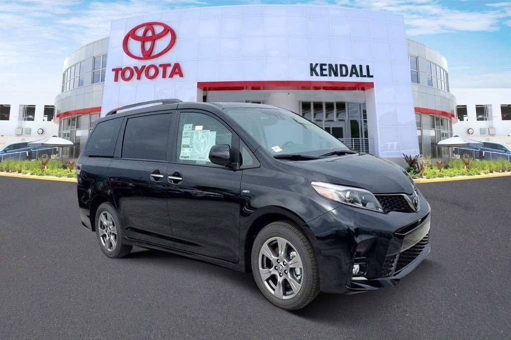 60 All New 2019 Toyota Sienna Se Research New