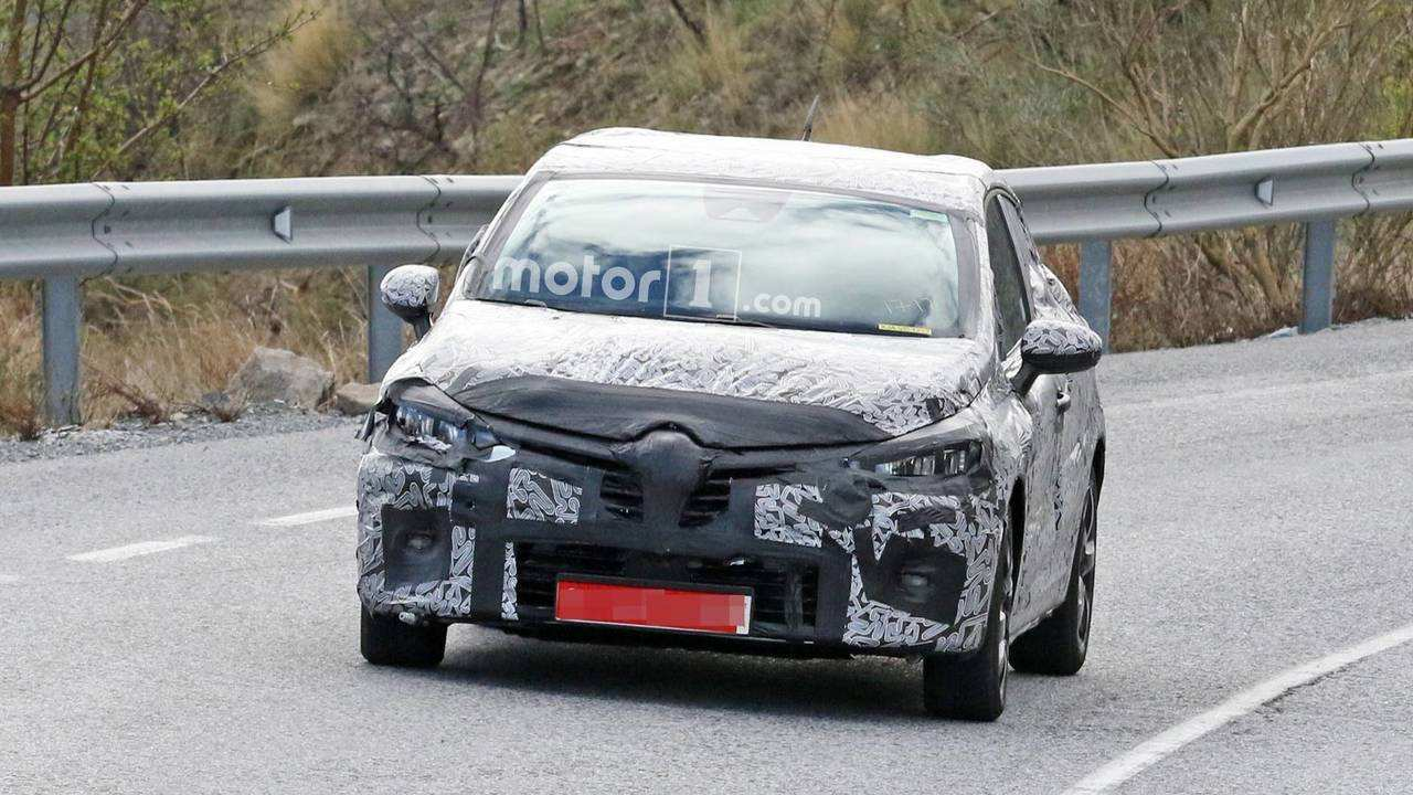 61 The Renault Clio 2019 Spy Model