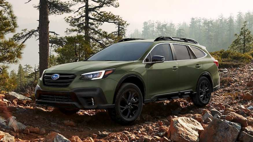 63 A 2020 Subaru Outback Concept Concept and Review