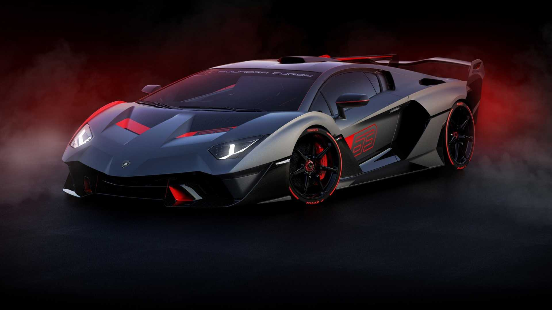72 A Lamborghini 2020 Models Spy Shoot