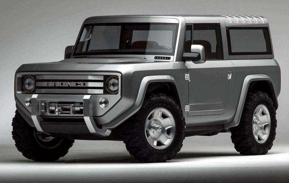 74 The Ford Bronco 2020 4 Door New Concept