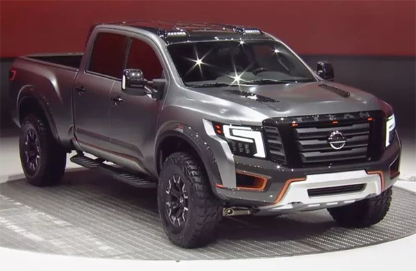 77 The Best 2019 Nissan Titan Release Date Exterior