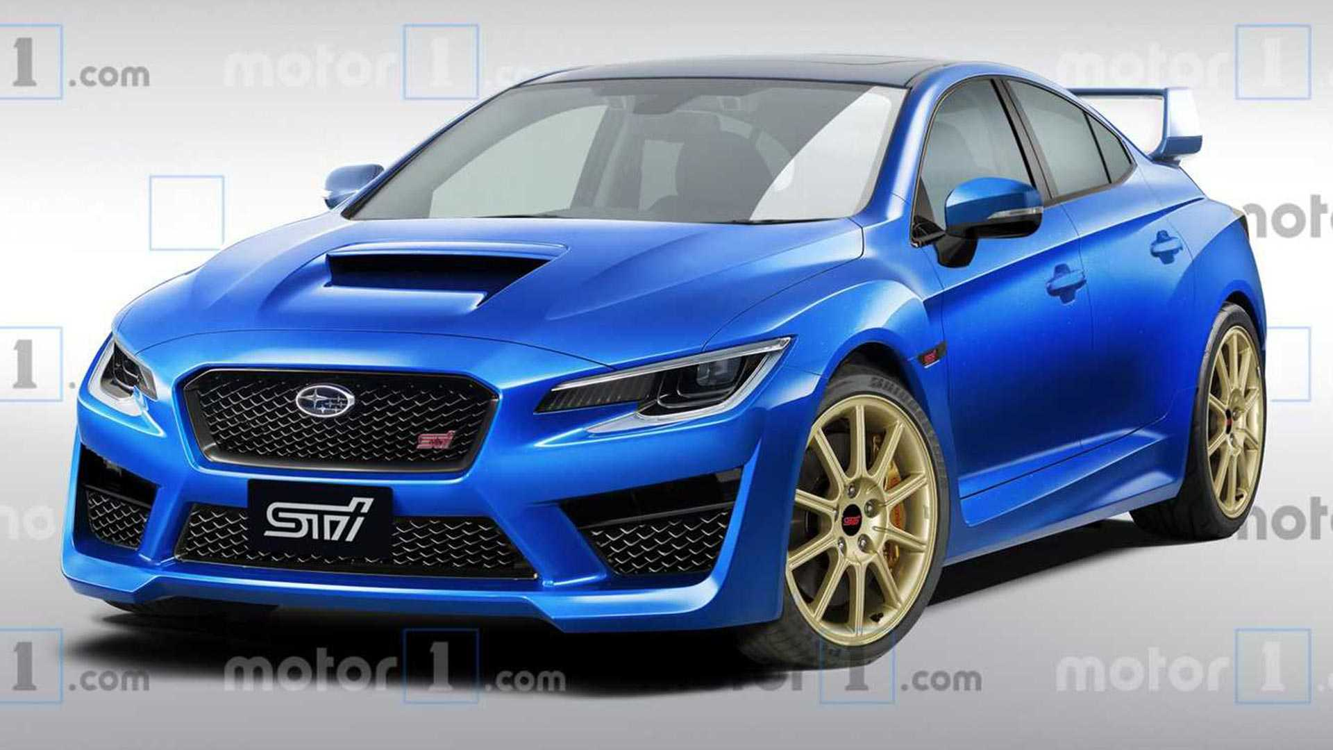 82 The Best 2020 Subaru Wrx Sti Release Date Redesign And Concept