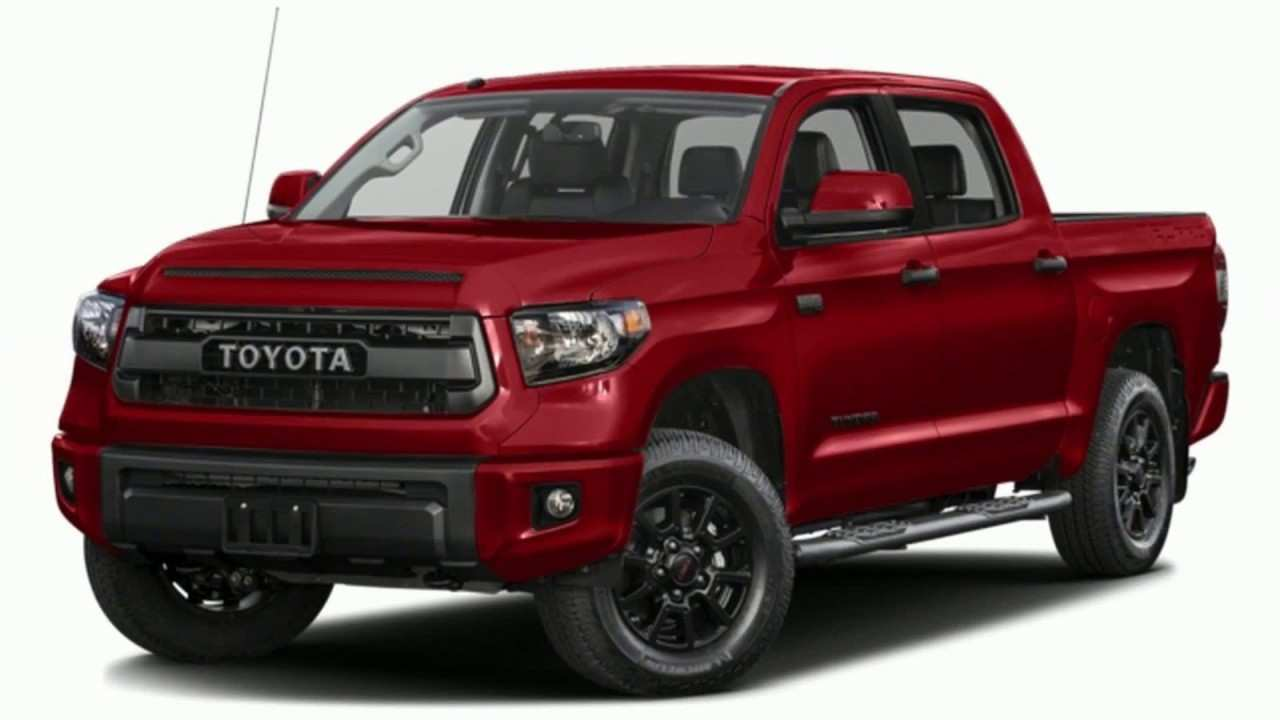 86 The 2019 Toyota Tundra Concept Speed Test