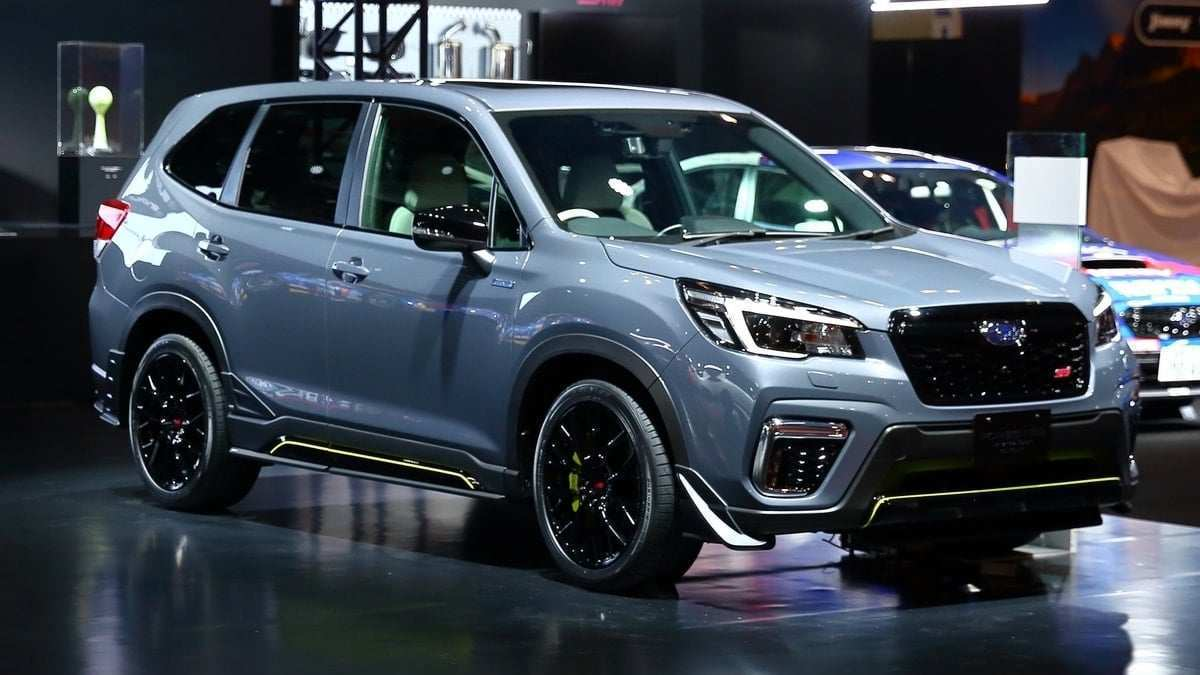 87 All New 2019 Subaru Forester Manual Interior