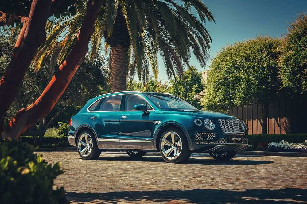 89 A 2020 Bentley Suv First Drive
