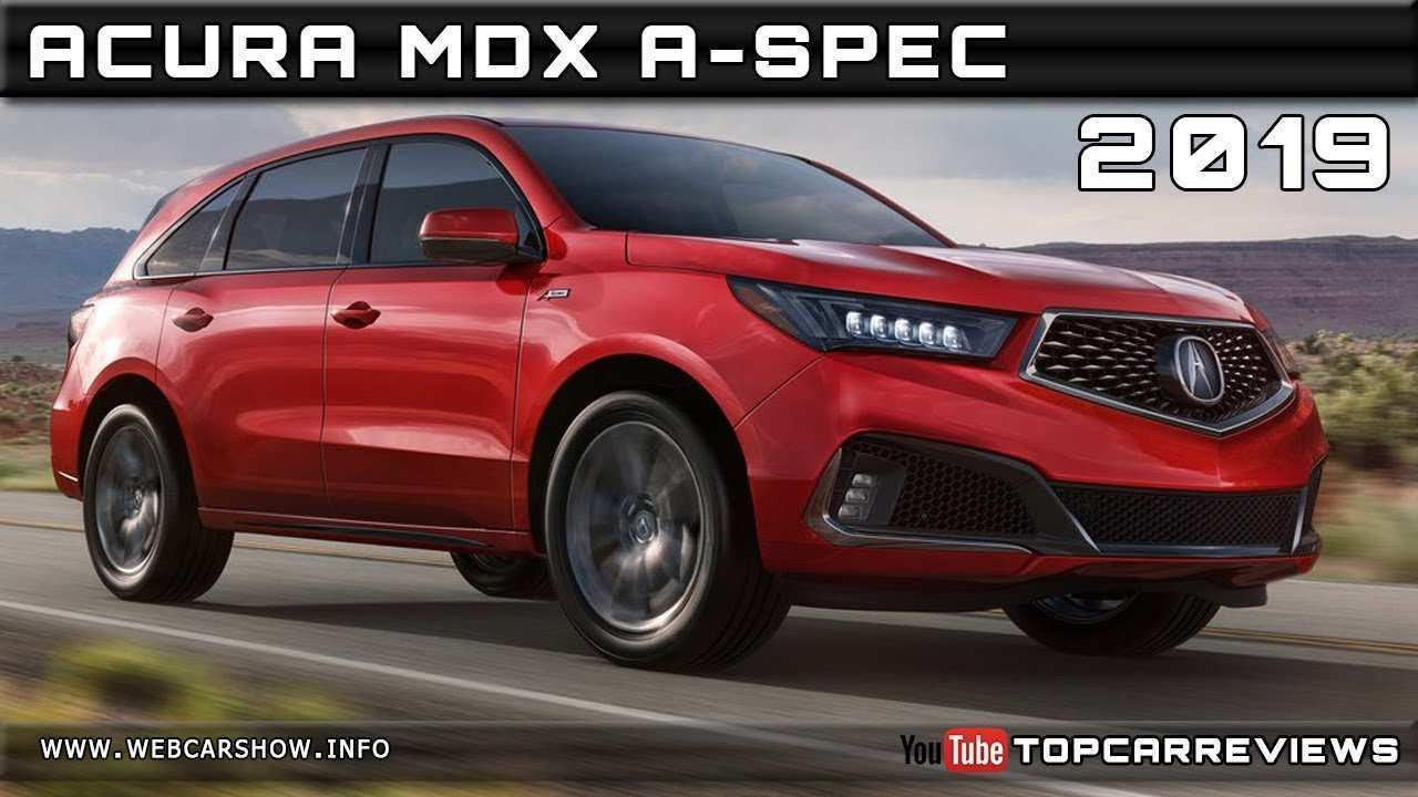 89 New 2019 Acura Mdx Release Date Release