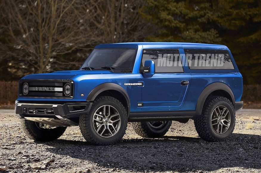 90 New Ford Bronco 2020 4 Door Overview