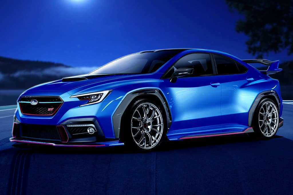 91 The Best 2020 Subaru Wrx Sti Release Date New Review