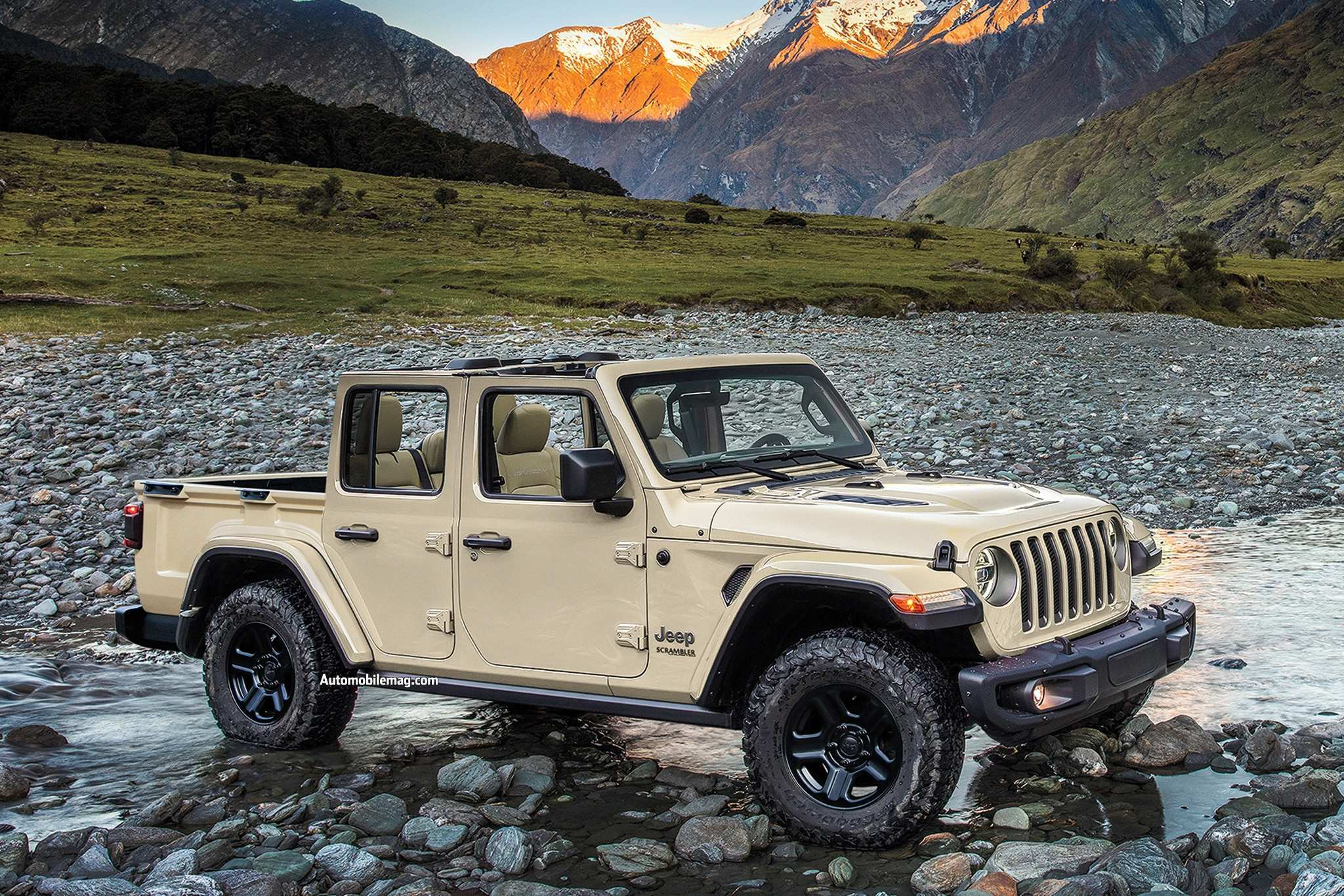 93 A 2019 Jeep Scrambler Specs Photos