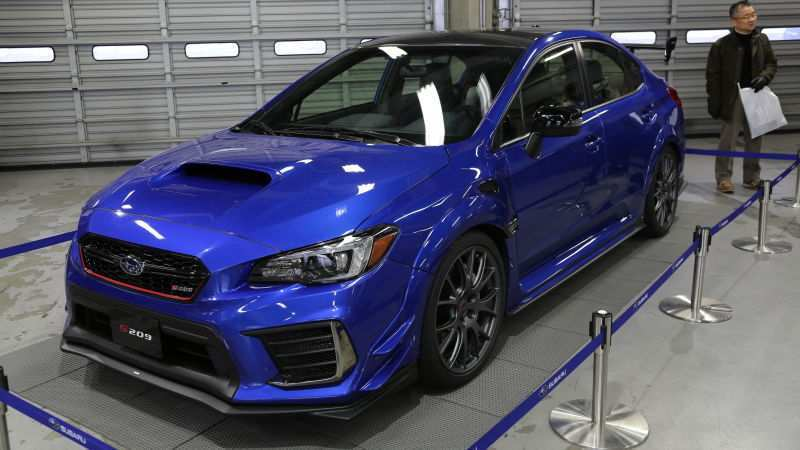 94 All New 2020 Subaru Wrx Sti Release Date Price And Review