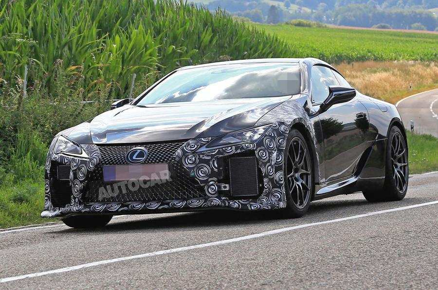 95 The 2020 Lexus Lc F Overview