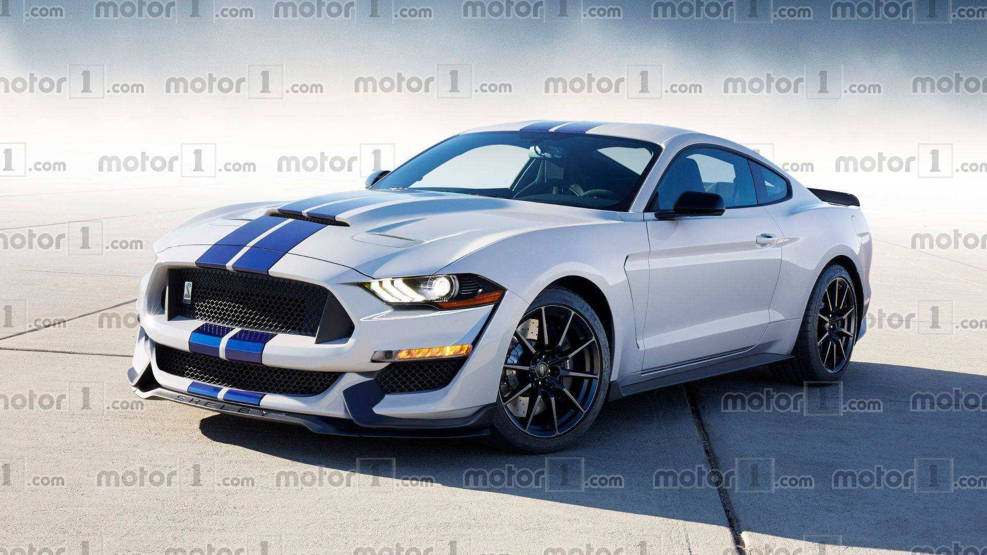96 A 2019 Ford Gt 500 Engine