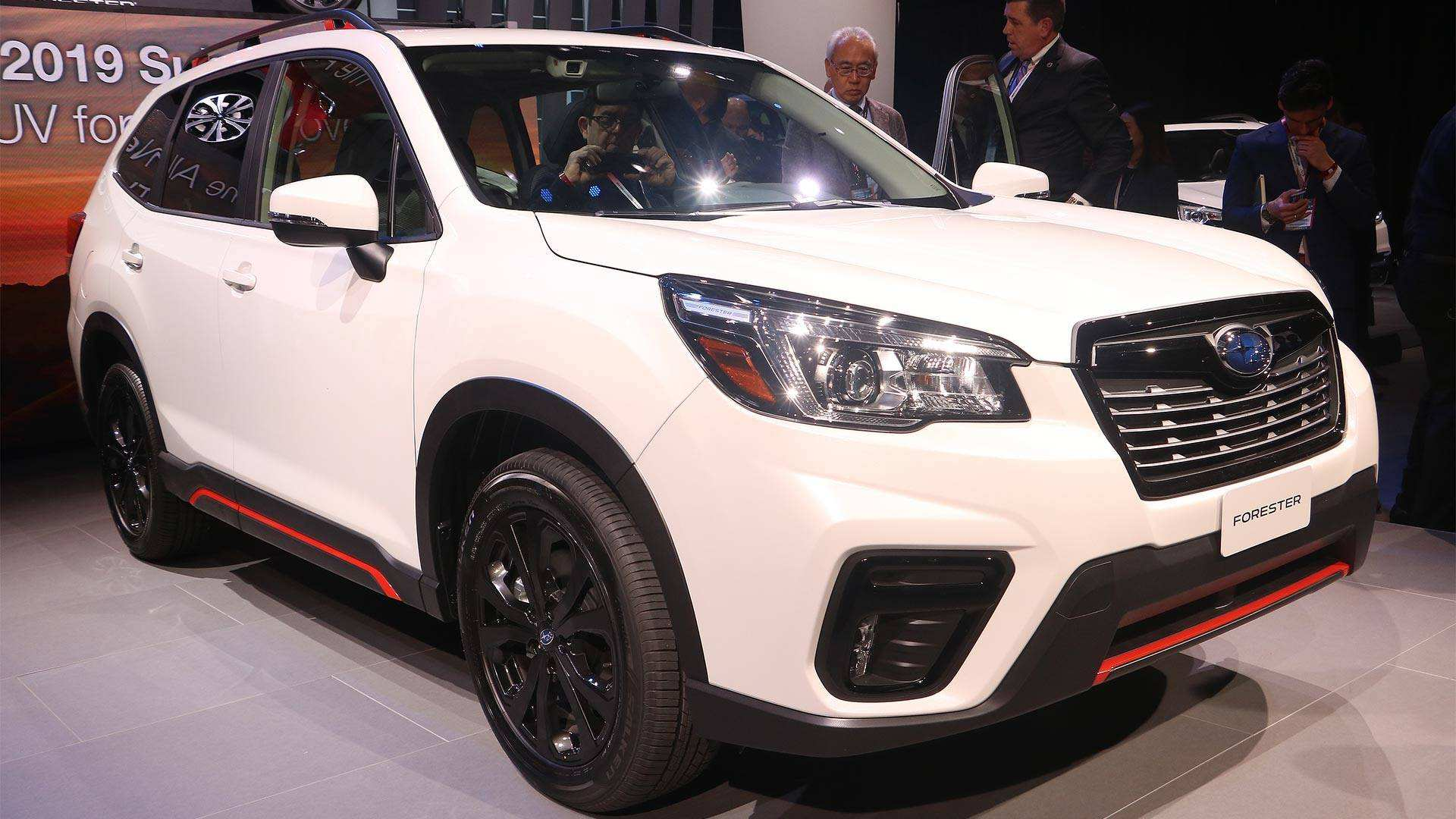 96 New 2019 Subaru Forester Manual Engine