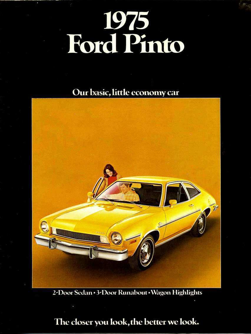 96 The 2020 Ford Pinto Spesification