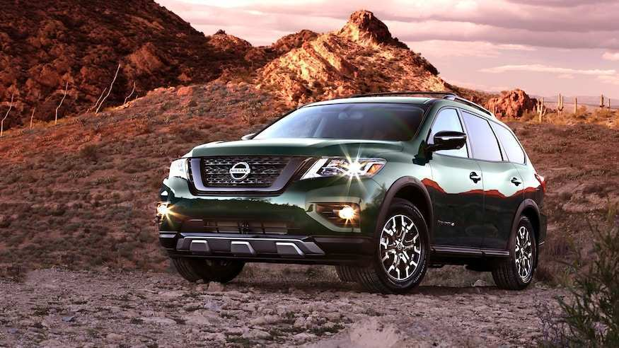 98 The Best 2019 Nissan Pathfinder Release Date Performance And New Engine