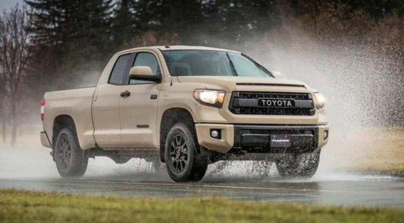 99 A 2019 Toyota Tundra Concept Model