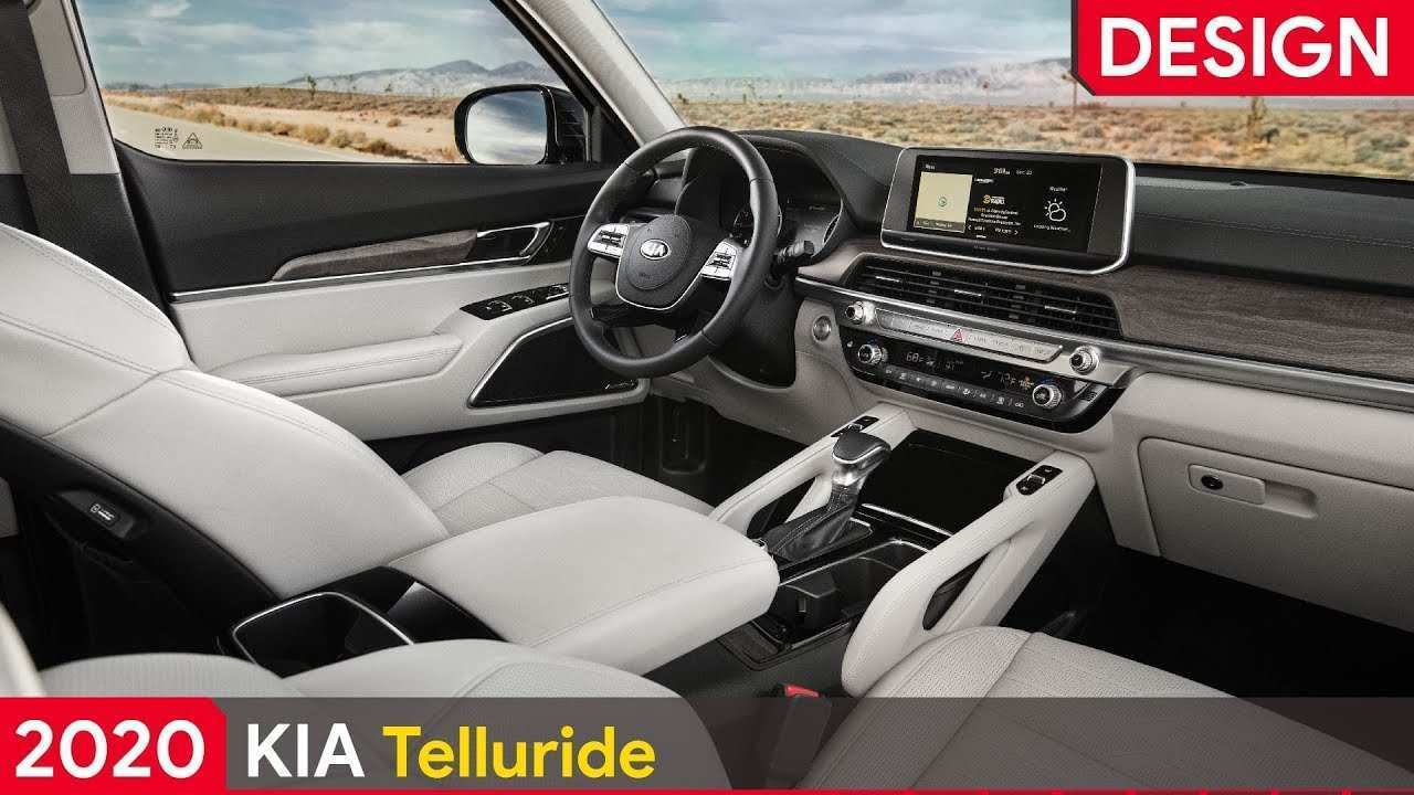 11 A Kia Telluride 2020 Interior Performance And New Engine