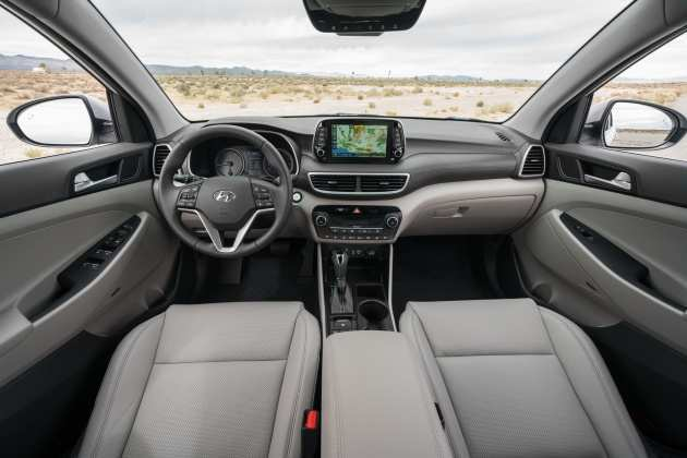11 New Hyundai Tucson 2019 Facelift Interior