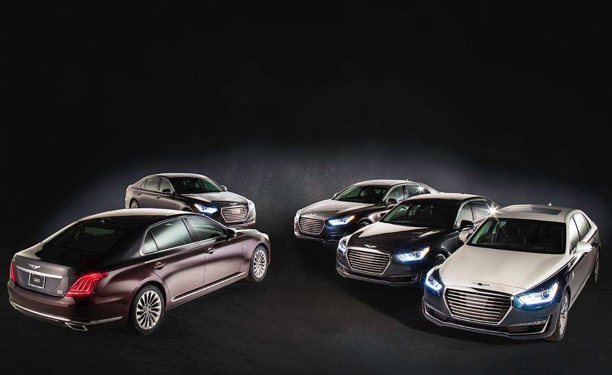 12 New 2019 Genesis Models Picture