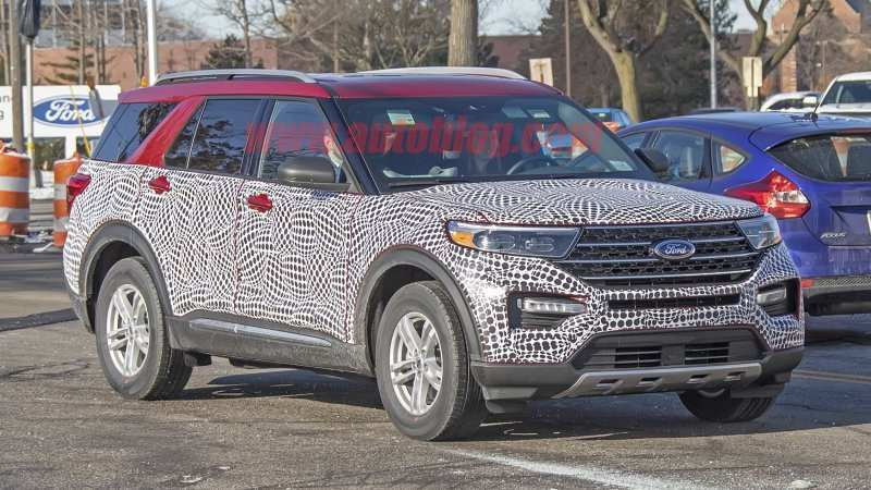 12 The Best Ford Unveils The New 2020 Explorer Rumors