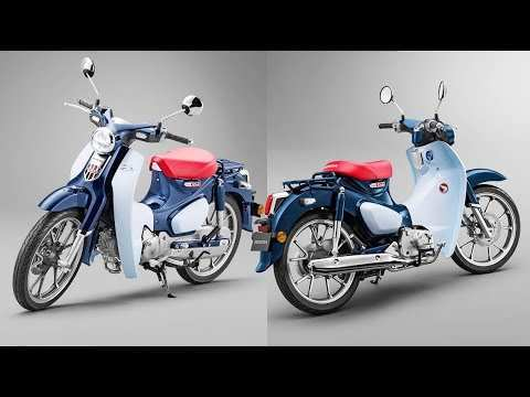 13 A 2019 Honda 125 Cub Exterior And Interior