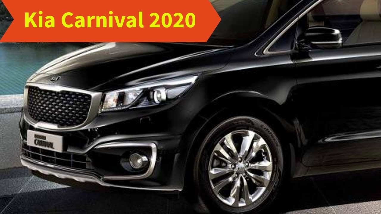13 The Best 2020 Kia Sedona Release Date Review And Release Date