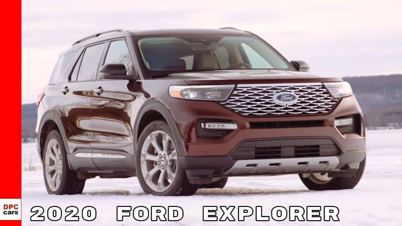 14 New 2020 Ford Explorer Youtube Rumors