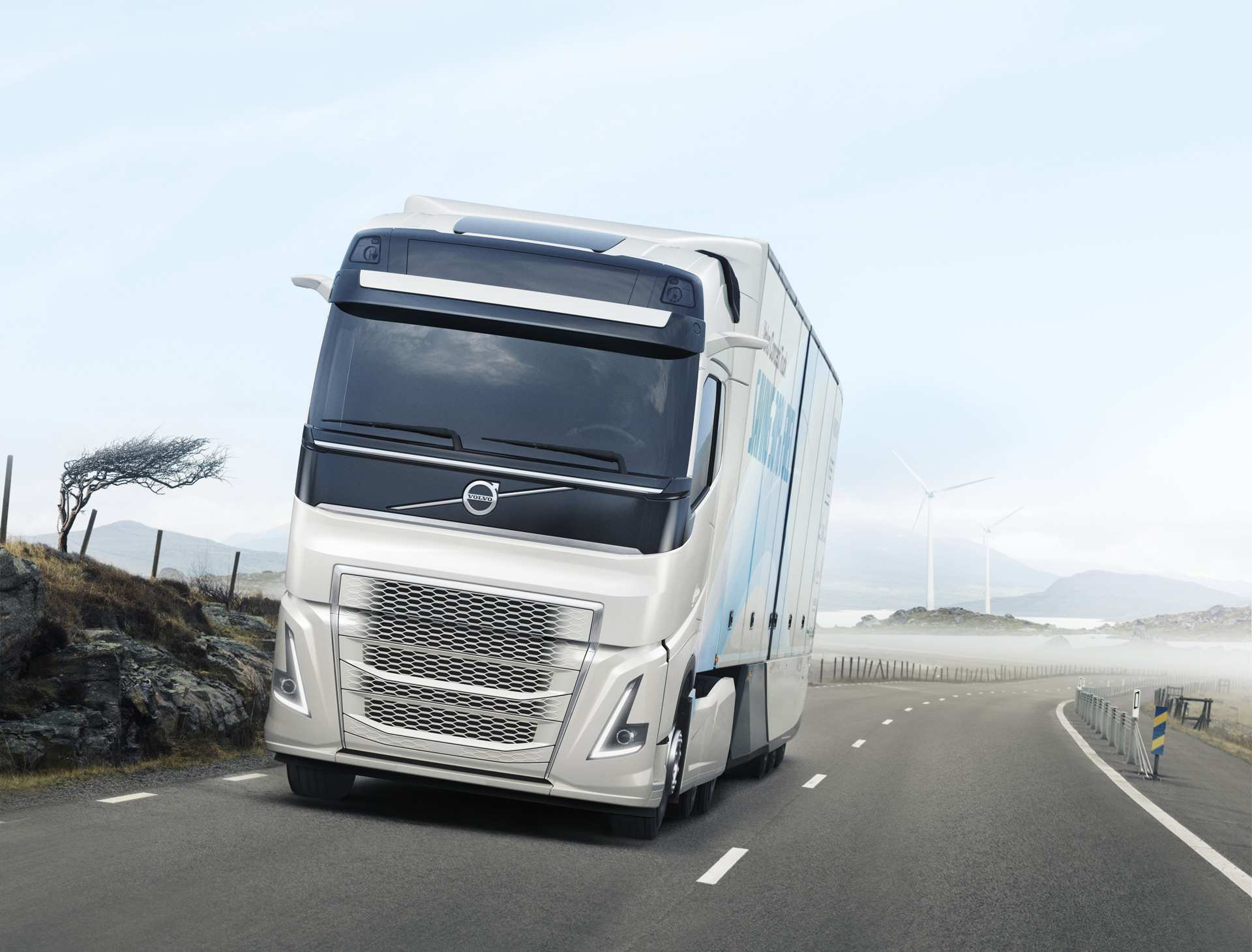 14 New Volvo Truck Concept 2020 First Drive